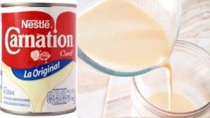 Leche evaporada casera con solo 2 ingredientes