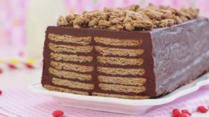 Receta de tarta de galletas sin horno