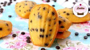 Magdalenas con chips de chocolate