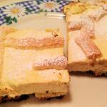 Tarta de ricota cremosa